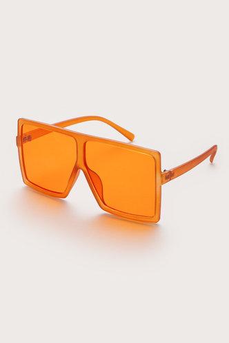 back_Summer Elizabeth Orange Square Frame Sunglasses