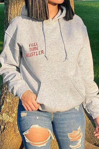front_Jean Flugil Grey Sweatshirt & Hoody