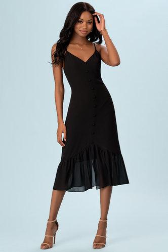 front_Iris {Color} Midi Dress