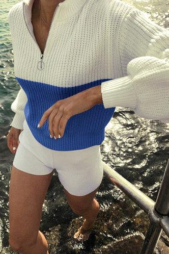 back_Snow Eartha Colorblock Sweater