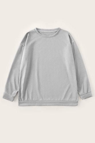 back_Frieda Eartha Light Grey Sweatshirt