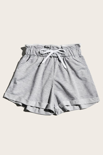 back_Dreama Grey Shorts