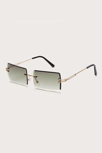 back_Summer Eleanore Emerald Green Metal Frame Tinted Lens Sunglasses