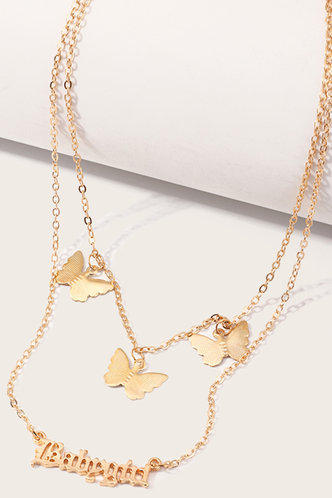 back_Angelou Ella Gold Butterfly Charm Necklace