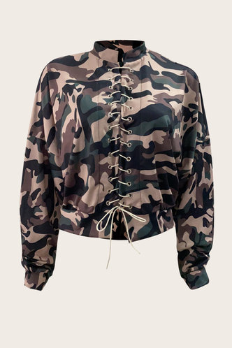 back_Jill Eunice Camo Lace Up Pullover