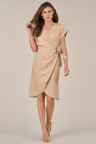 front_Annabelle Eden Dusty Rose Midi Dress