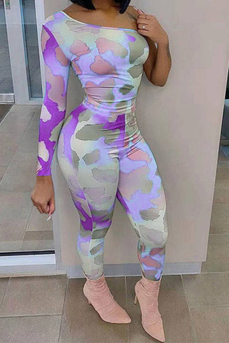 front_Pauline Elvira Purple Tie Dye Jumpsuit