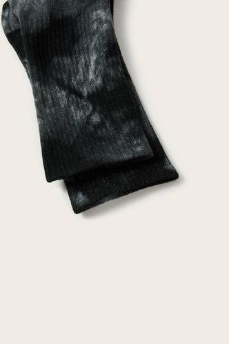back_Prudence Emma Black Tie Dye Socks 1pair