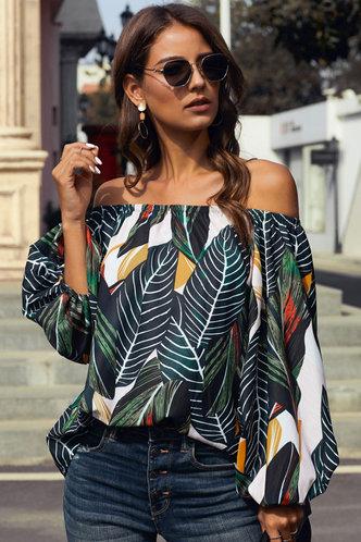 front_Gail Elaine Multicolor Top