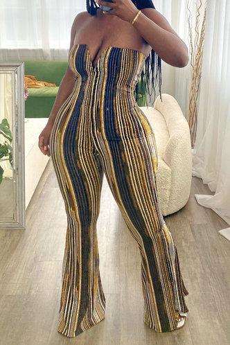 front_Sally Erica Striped Jumpsuit