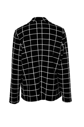 back_Checks Every Box {color} Blazer