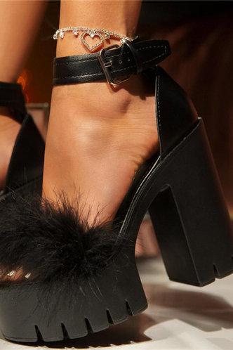back_Anita Erica Black Heeled Sandals