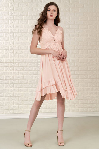 front_Imagining {Color} Mini Dress