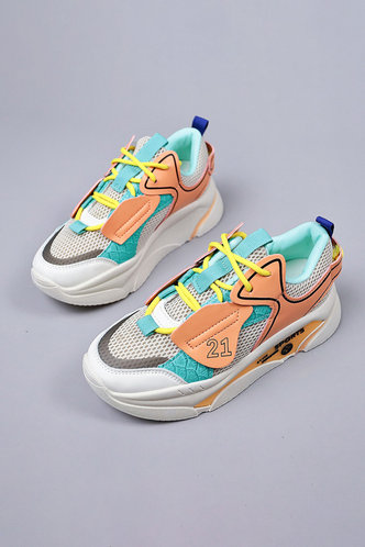 front_Gabrielle Inkuj Multicolor Chunky Sneakers