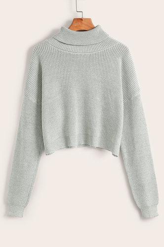 back_Karan Light Grey Sweater