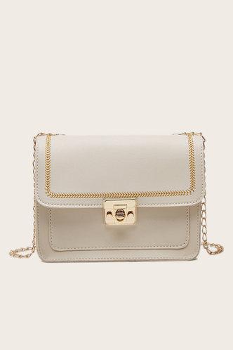 front_Thalia Elvira Beige Crossbody Bag
