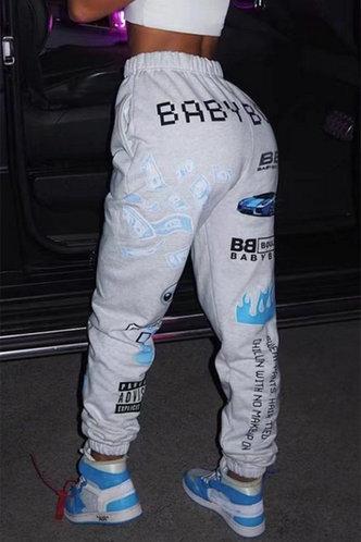 back_Edwina Oktoped Light Grey Pants
