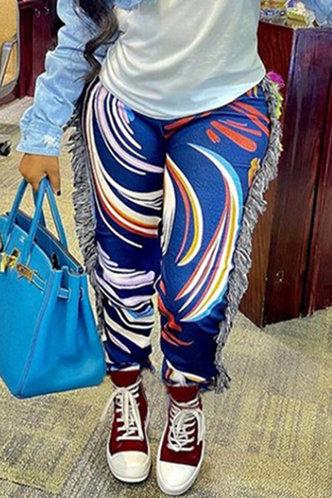 front_Ella Kunul Blue Pants