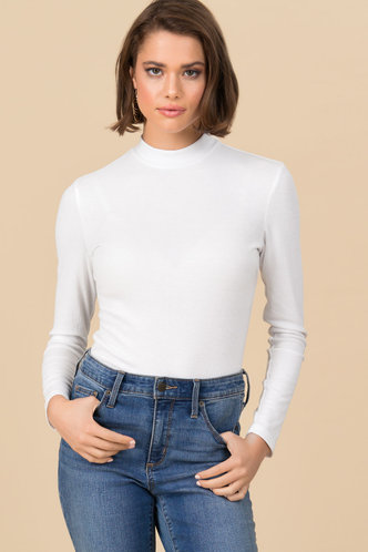 front_Good Idea {color} Long Sleeve Top
