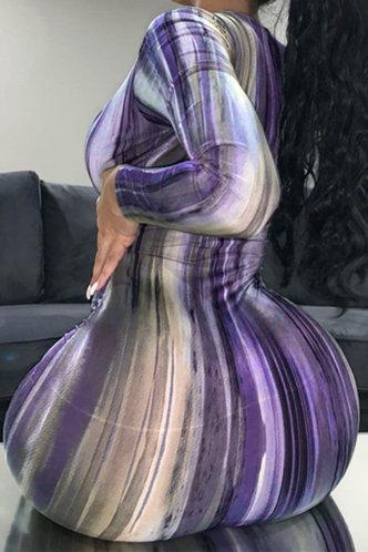 back_Harriet Emily Purple Tie Dye Dress