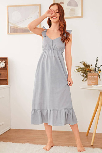 front_Honey Grey Dress