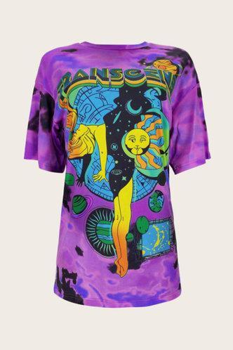 back_Georgiana Elsa Purple Multi Print Plus Tee