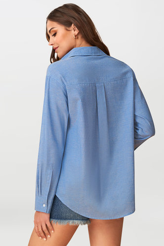 back_Amicable {Color} Long Sleeve Top