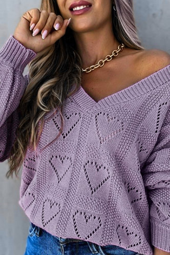 front_Kali Evangeline Purple Pullover
