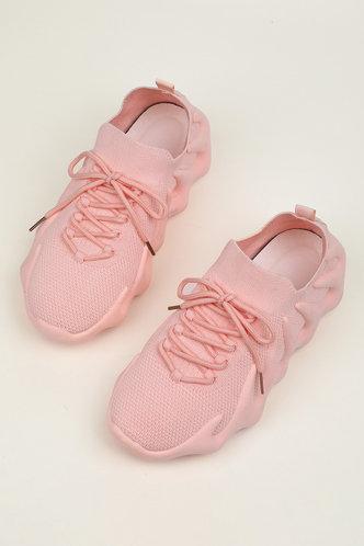 back_Denise Junul Pink Sneakers