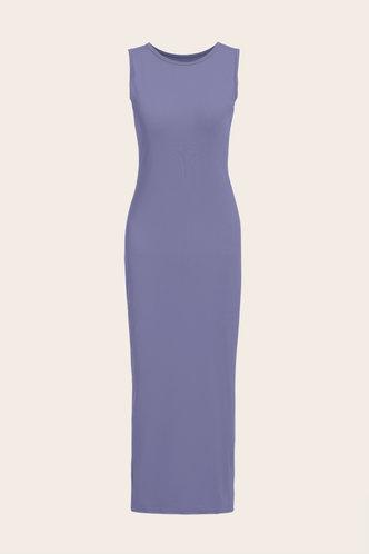 back_Jacquetta Eleanore Purple Bodycon Tank Dress