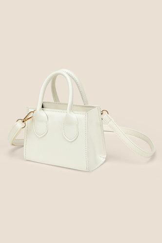 back_Lynne Elizabeth White Satchel Bag