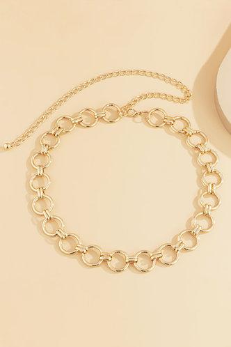back_Diane Erica Gold Waist Chain