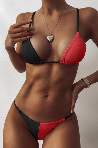 front_Bader Ella Black And Red Bikini