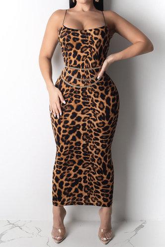 back_Catherine Enid Brown Leopard Print Plus Cami Bodycon Dress