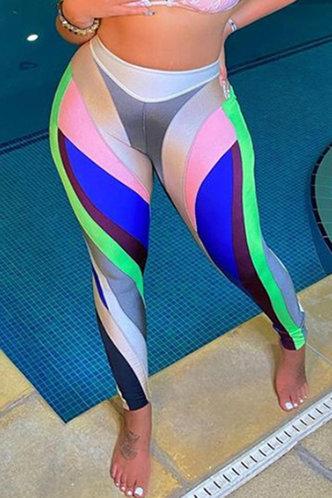 front_Rowena Erin Colorblock Activewear Bottoms