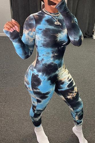 back_Ruth Evangeline Tie Dye Jumpsuit