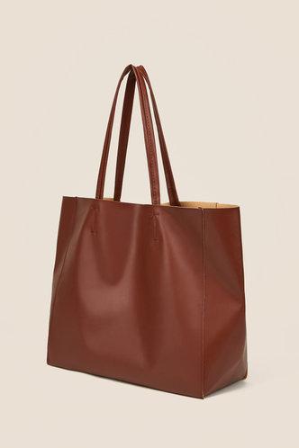 back_Kimberly Ella Brown Tote Bag