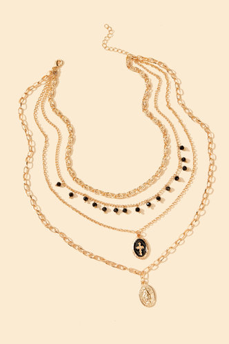 back_Casual Vacation Gold Necklaces