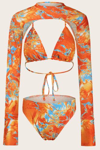 back_Alexia Emily Orange Bikini