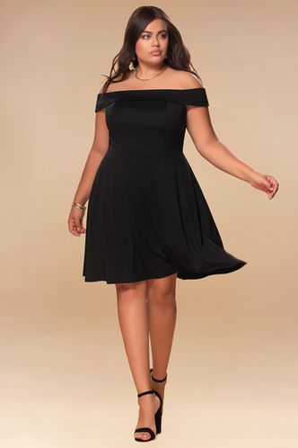 back_Perfect Match {Color} Skater Dress