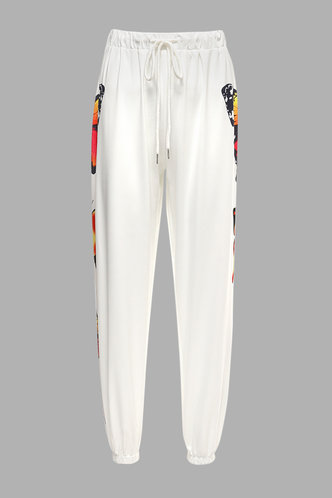 front_Lili White Joggers