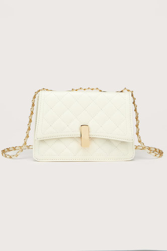 front_Lynda Elsie White Shoulder Bag