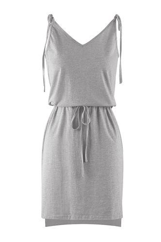 back_Light My Fire Grey Mini Dress