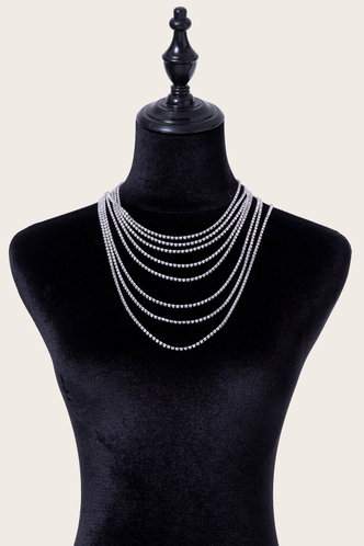 back_Casual Street Silver Necklaces