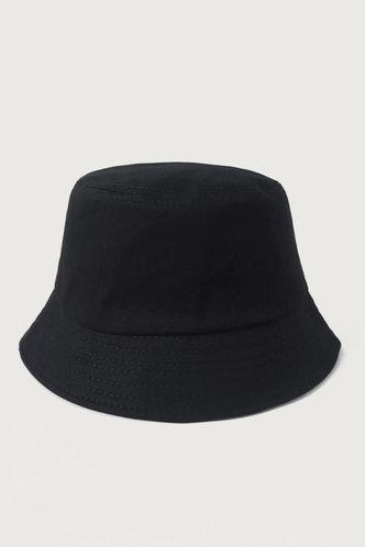 back_Ileana Ella Black Bucket Hat