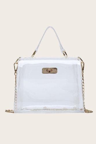 front_Bertha Irlan Transparent Satchel Bag