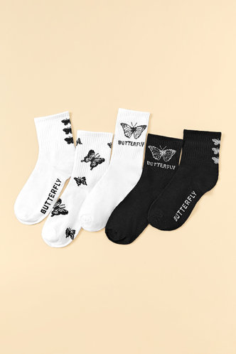 front_Almon Edith Multicolor Socks 5pairs