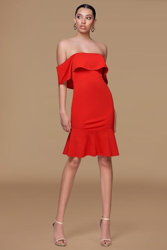 front_Crazy in love {Color} Midi Dress