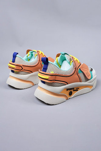 back_Gabrielle Inkuj Multicolor Chunky Sneakers