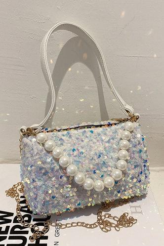 front_Erica Oktoped Glitter Shoulder Bag